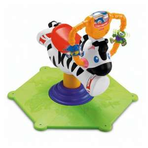 Fisher Price Bounce and Spin Zebra, only £23.99 delivered to store @ mothercare