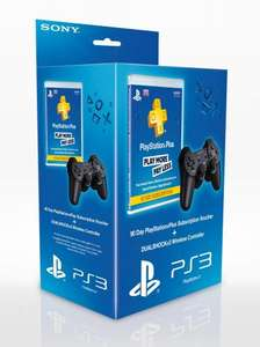 Dualshock 3 & Playstation Plus 90 day £37.97 @ GameStop
