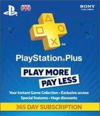 Playstation plus 1 year £36.99 (Nectar deal brings price down) sainsburys entertainment.co.uk