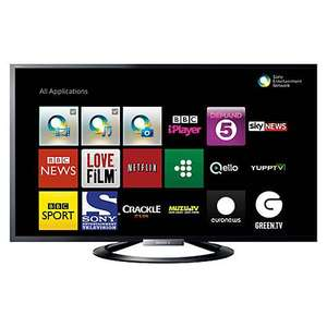 "Sony Bravia KDL42W805 LED HD 1080p 3D Smart TV, 42"", NFC with Freeview HD £499 @ John Lewis"