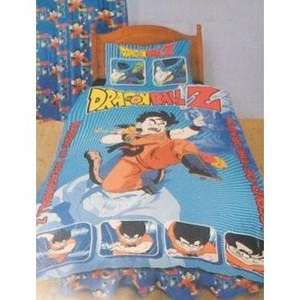 official Dragon Ball Z bedding set duvet cover and pillow case for 14.95 @Universal textures