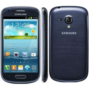 Samsung Galaxy SIII Mini UK Sim Free Smartphone - Blue - £99 @ amazon