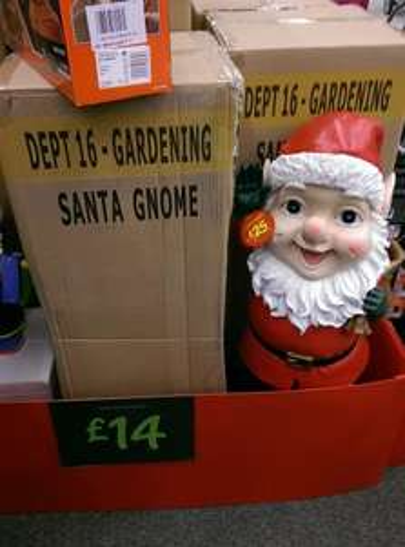 Santa Gnome £14 @ black friday event asda - limited stocks