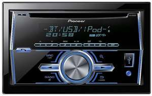 Pioneer FH-x700bt double din car stereo inc BUILT IN PARROT @Halfords £114.90