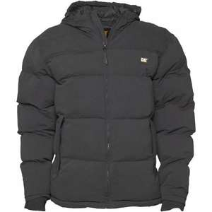 Caterpillar Mens Puffa Jacket (Black) £23.98 Delivered @ MandM direct