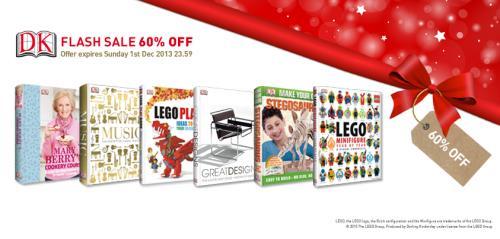 DK Xmas Books Flash Sale 60% off now until 23:59 1 Dec