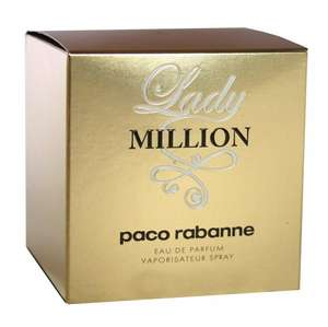Paco Rabanne Lady Million EDP Spray for Women  80ml £42.49 @ Amazon