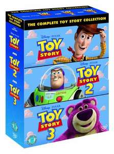 The Complete Toy Story Collection: Toy Story / Toy Story 2 / Toy Story 3 [DVD] £12 @ Amazon