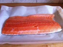 Salmon Whole Side Fillet £9.32 KG at Morrisons