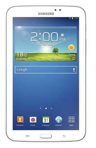 Samsung galaxy tab 3 7inch white only £99 with £20 discount at amazon