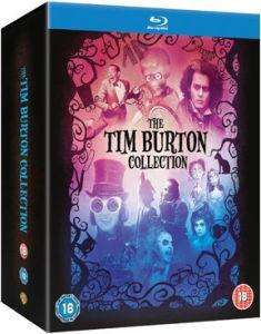 Tim Burton movie collection on Blu-ray £16.99 @Zavvi