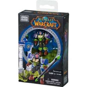 Mega Bloks World of Warcraft Faction Pack Figure Assortment, less than half-price now £2.99 at Argos