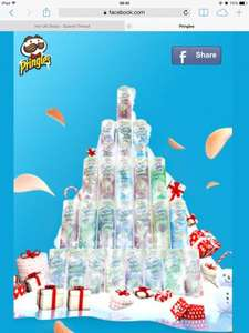 Pringles Tree Up Today On Facebook! Lots of Vouchers & Other Treats!
