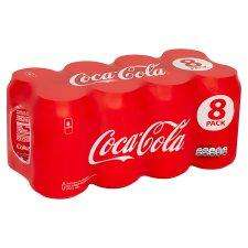 Coca cola / Diet Coke / Coke Zero / 330ml 8 Packs are £4.20 each BOGOF (£3.70 with printable voucher)  @ Tesco