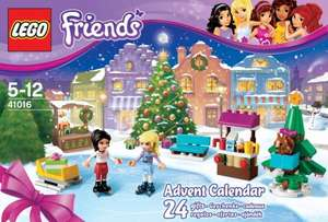 Lego friends advent calendar 41016 £9.99 at Argos