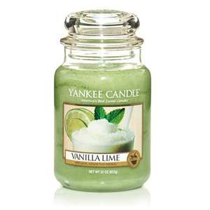 Yankee Candle Vanilla Lime Large Jar £12.99 delivered from Ebay Yankeeoutlet