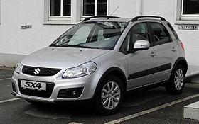 Suzuki SX4 1.6 SZ3 VAT Free £10495 @ Suzuki UK