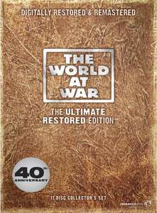 World At War: The Ultimate Restored Edition DVD Boxset £12 @ Sainsbury's Entertainment