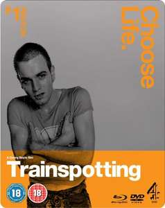 Trainspotting 2 disc BLURAY steelbook £6 at Fopp stores