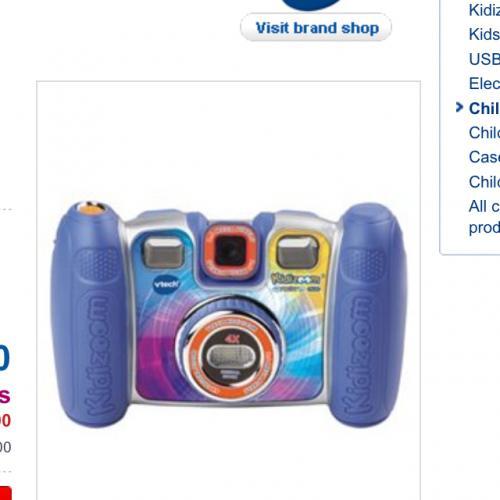 Vetch kiddo zoom twist camera £24.99 @ boots