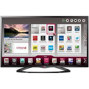 "LG 47"" 1080p HD Smart LED TV, Built-in Wi-Fi & Freeview HD £549 @ JL £499 with price match"