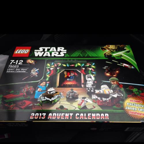 Lego Star Wars Advent Calendar £12.50 @ Tesco instore