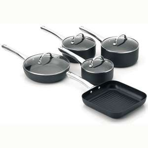 Viners 5 Piece aluminium pan set (25 year guarantee) - 29.00