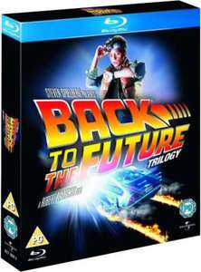 Back to the Future Trilogy [Blu-ray] [Region Free] £7.75 inc delivery @ Amazon
