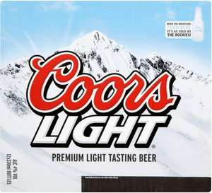 Coors Light 20x330ml £10 at The Co-operative