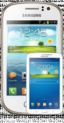 Free Samsung Galaxy Fame Plus Galaxy Tab 3 £11.99 pm @ selectafone.co.uk