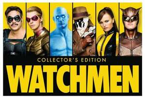 Watchmen Collector's Edition: Ultimate Cut + Graphic Novel [Blu-ray] £14 @ Amazon US