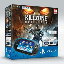 PS Vita, 16GB Memory Card, PS Vita WIFI Edition and Killzone Mercenary. £149.99 @ game