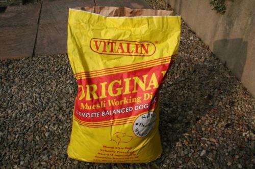 Vitalin original dog food. Big bags. £11.99 @ Pets at Home