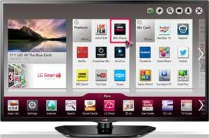 LG 32LN570U 32-inch Widescreen HD ready Smart LED TV with Freeview HD £269.99 @ Amazon