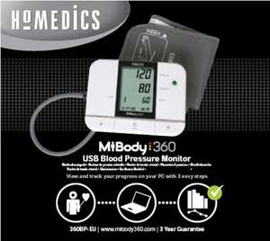 Homedic Mibody 360 Blood Pressure Monitor- 360BP-EU £10.49 Delivered at Amazon UK George & Freddie