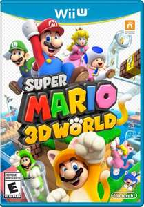 Super Mario 3D World - Wii U - £30 with coupon+extra spend - Tesco