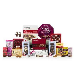 A ''Christmas Cracker'' of a Hamper Was £100 now £50 + 12% Quidco @ Thorntons