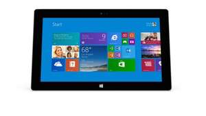 Microsoft Surface 2 £359.00 - With £25 voucher for The Microsoft Store and £25 voucher for The App store
