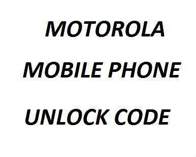 Unlock code for Motorola Moto G £2.03 99.6 positive feedback  @ Ebay mnz.technologies.ltd