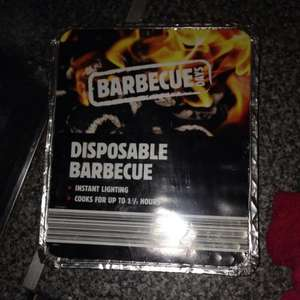 Disposable Barbecue 19p at Aldi