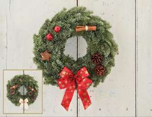 Christmas Wreath £9.99 @ ALDI