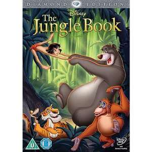 Jungle Book Diamond Edition DVD @ Asda online and in-store £8.00