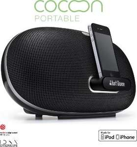 CLEARANCE - Denon DSD300 Cocoon Portable Speaker Dock for iPod Touch and iPhone in Black £159.97 @ Electricshop