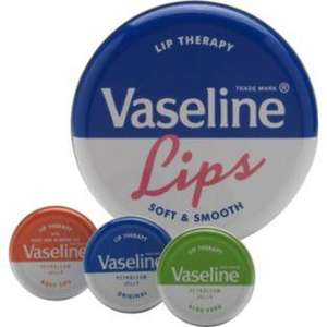 Vaseline Original Lip Therapy Tin £3 @ Primark
