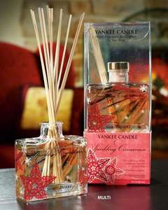 Yankee Candle Signature Reed Diffuser half price £8.00 delivered with code @ Cotton Traders