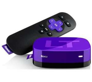 Roku lt media streamer £28.90 @Currys, usually £49.99, collect instore!