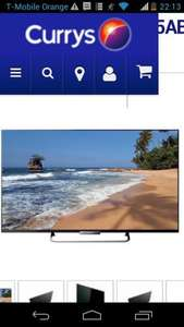 "Sony Bravia smart 3D 50"" LED TV was £849 now £699 with code @ currys"