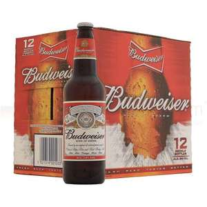 12x bottles of Budweiser! £5.99 @ Aldi
