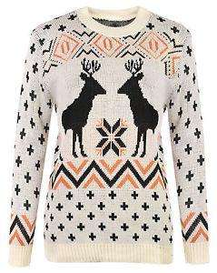 Womens Mens Christmas Reindeer Jumper Delivered £9.98  @ Ebay/ asfashion online