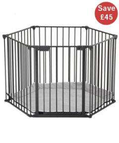 BabyDan Playpen - Black £44.95 (£2.95 delivery) at Mothercare